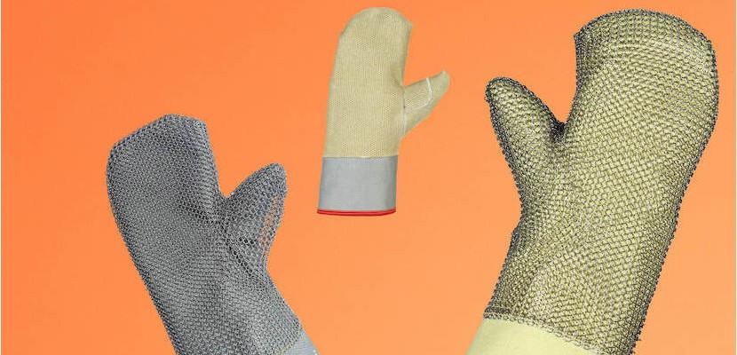 Rękawice jednopalcowe od 900 do 1100°C