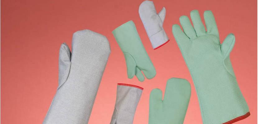 Rękawice i rękawice jednopalcowe od 600 do 700°C