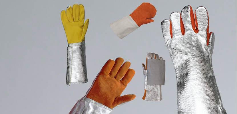 Rękawice i rękawice jednopalcowe do 250°C